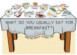 Breakfast clipart morning activity