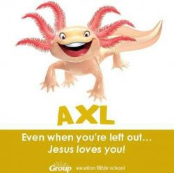 Axolotl clipart weird animals vbs