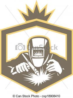 Welder clipart arc welding