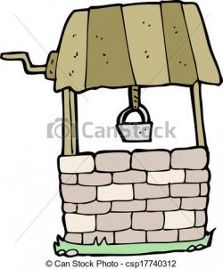 Wishing Well clipart vector