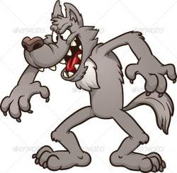 Werewolf clipart big bad wolf