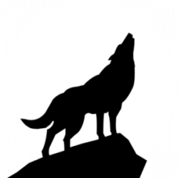 Coyote clipart wolf howl