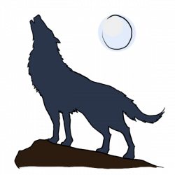 Coyote clipart cartoon wolf