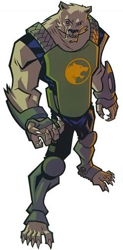 Drawn wolfman armor