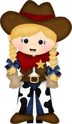Cowgirl clipart cowboy