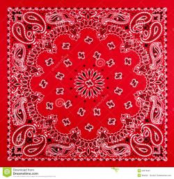 Handkerchief clipart bandana pattern