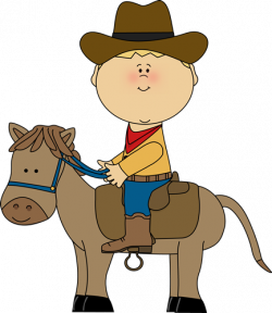 Wild West clipart ride horse