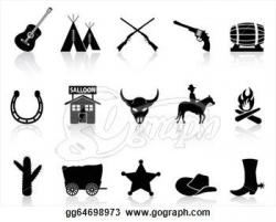 Wild West clipart old west