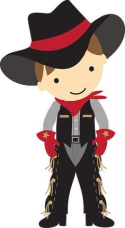 Cowgirl clipart kid