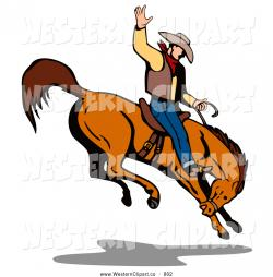 Western clipart rodeo
