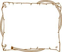 Timber clipart border