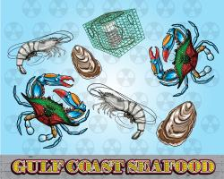 Western clipart seafood