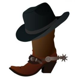 Western clipart themed