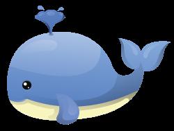 Cute clipart whale