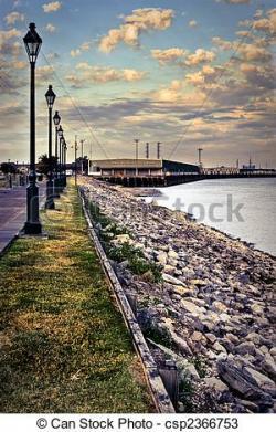 Boardwalk clipart wharf