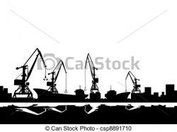 Wharf clipart port