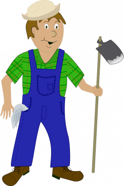 Rice clipart farmer