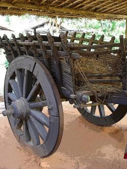 Wheel clipart bullock cart