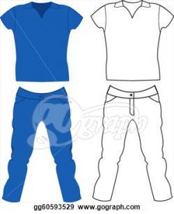 Jeans clipart shirt pants