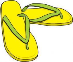 Sandal clipart summer cloth