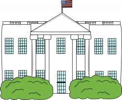 Presidents clipart white house