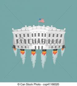 White House clipart government building