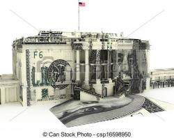 White House clipart government spending