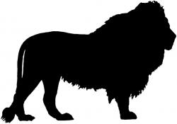 White Lion clipart