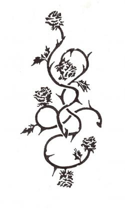 Gothc clipart vine
