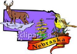 White-tailed Deer clipart nebraska state animal