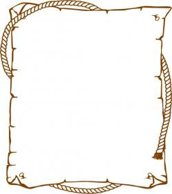 Templates  clipart western border