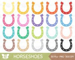 Irish clipart horseshoe