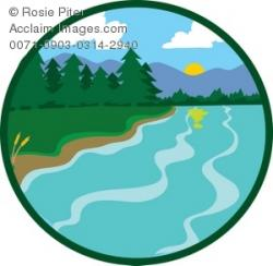 Lake clipart wilderness