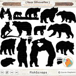 Grizzly clipart wilderness