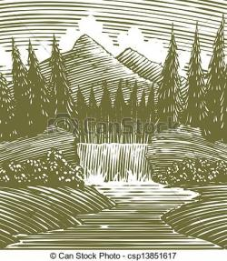 Wilderness clipart