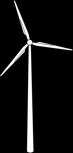Drawn windmill wind turbine