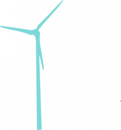 Wind Turbine clipart art
