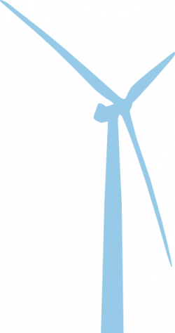 Wind Turbine clipart icon