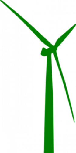 Wind Turbine clipart vector