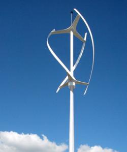 Wind Turbine clipart vertical axis