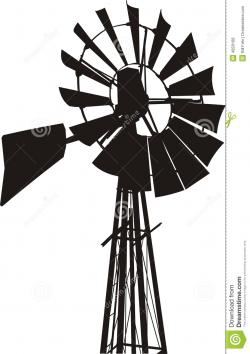 Outback clipart farm windmill