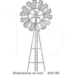 Windmill clipart wind pump