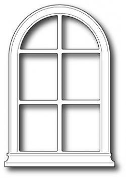 Open Door clipart arched window