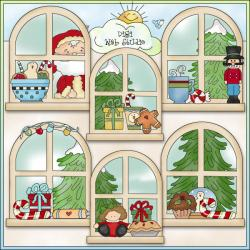 Gingerbread clipart window