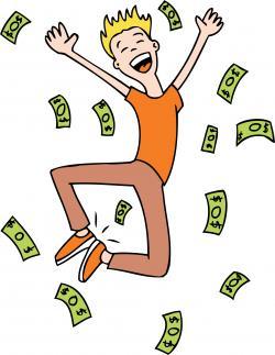 Cash clipart lottery winner