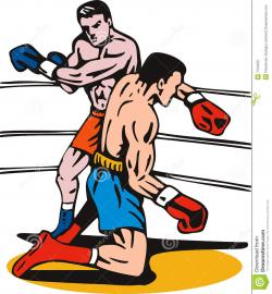 Boxer clipart boxing knockout
