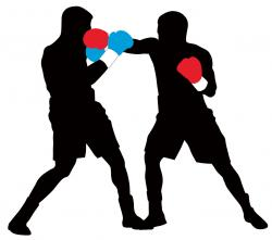 Boxer clipart boxing match
