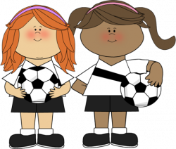 Soccer clipart team playing