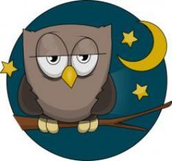 Wisdom clipart night owl