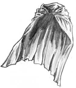 Sorcerer clipart cloak